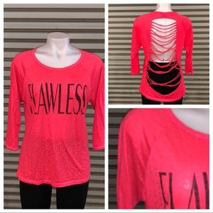 🛍️Material Girl Flawless t-shirt ripped back